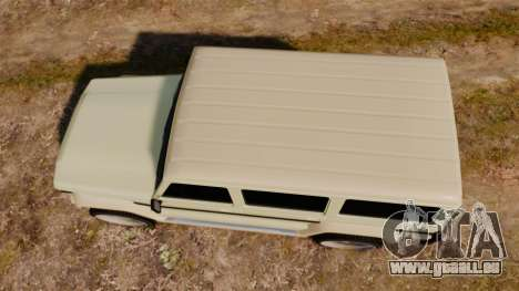 GTA V Benefactor Dubsta für GTA 4 rechte Ansicht