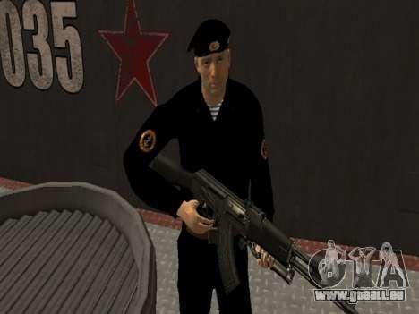 Das marine-Korps der WEHRMACHT für GTA San Andreas dritten Screenshot
