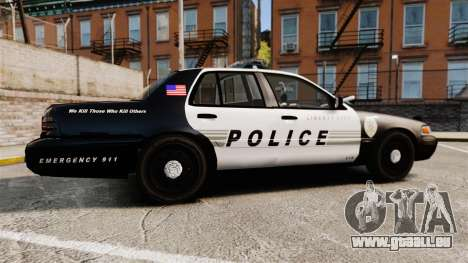 Ford Crown Victoria LCPD [ELS] für GTA 4 linke Ansicht
