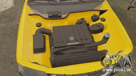Volkswagen Parati G4 Track and Field 2013 pour GTA 4 est une vue de l'intérieur