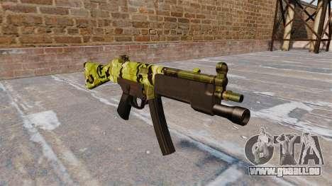 Die HK MP5 Maschinenpistole für GTA 4