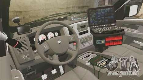 Dodge Ram 2500 2006 DACS [ELS] für GTA 4 Rückansicht