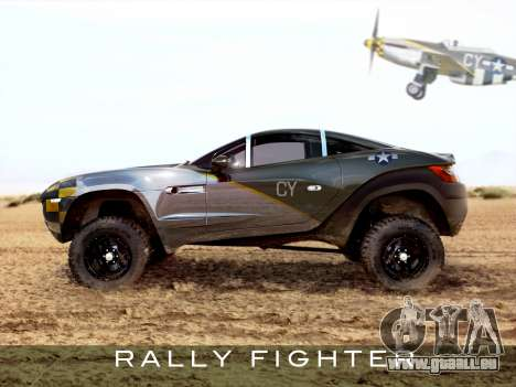 Les écrans de démarrage Rally Fighter pour GTA 4 secondes d'écran