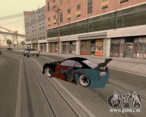 Nissan 150sx Evil Empire pour GTA San Andreas vue de droite