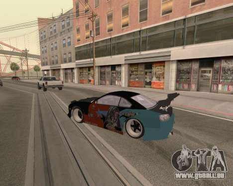 Nissan 150sx Evil Empire für GTA San Andreas rechten Ansicht