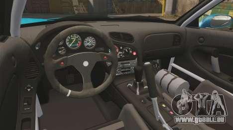 Mazda RX-7 Super Edition pour GTA 4 Vue arrière