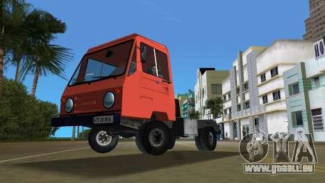Multicar pour GTA Vice City vue de dessous