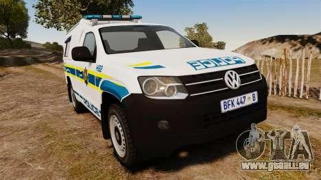 Volkswagen Amarok 2012 SAPS [ELS] pour GTA 4