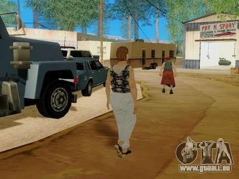 Une femme âgée v.2 pour GTA San Andreas neuvième écran