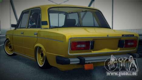 VAZ 2106 par Les Voitures pour GTA San Andreas sur la vue arrière gauche