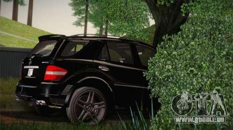 Mercedes-Benz ML63 für GTA San Andreas linke Ansicht