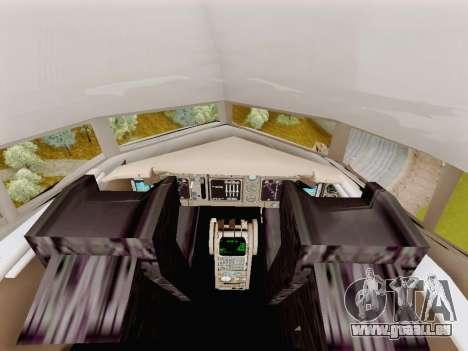 Boeing 767-300 pour GTA San Andreas vue arrière