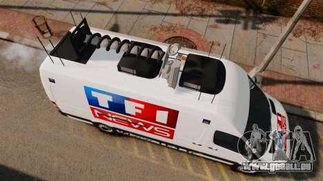 Mercedes-Benz Sprinter TF1 News [ELS] pour GTA 4 est un droit