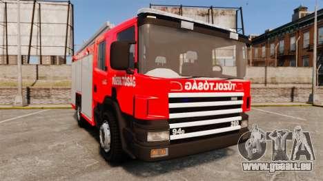 Hongrois camion de pompiers [ELS] pour GTA 4