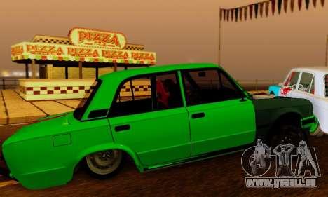 BMWAZ für GTA San Andreas Rückansicht