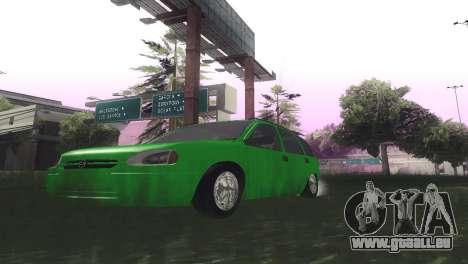 Chevrolet Corsa Wagon pour GTA San Andreas vue intérieure