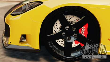 Mazda RX7 Veilside V8 für GTA 4 obere Ansicht