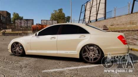 Mercedes-Benz S65 (W221) AMG für GTA 4 linke Ansicht
