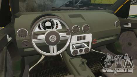 Volkswagen Parati G4 Track and Field 2013 pour GTA 4 est un côté