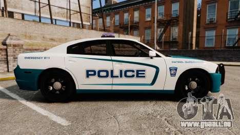 Dodge Charger 2013 Patrol Supervisor [ELS] pour GTA 4 est une gauche