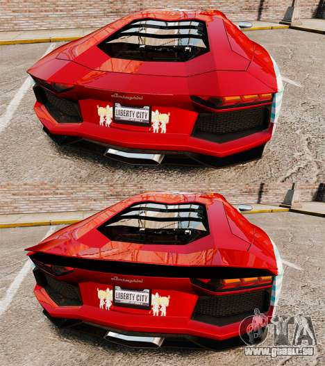 Lamborghini Aventador LP700-4 2012 [EPM] Miku 2 für GTA 4 Unteransicht
