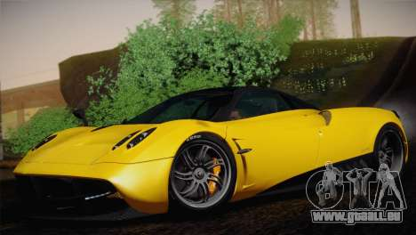 Pagani Huayra pour GTA San Andreas vue arrière