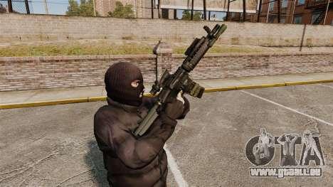 Automatique M4 carbine pour GTA 4 sixième écran