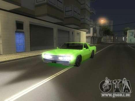 Drag Picador v1 für GTA San Andreas linke Ansicht