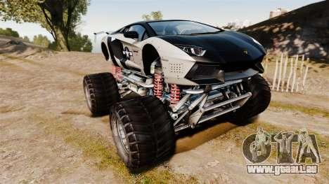 Lamborghini Aventador LP700-4 [Monster truck] pour GTA 4