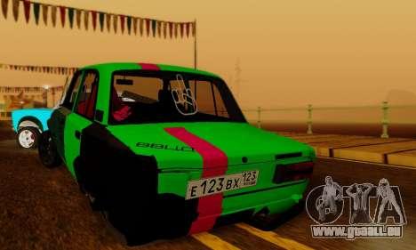 BMWAZ pour GTA San Andreas sur la vue arrière gauche