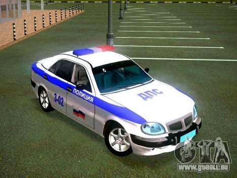 GAZ Volga 3111 DPS pour GTA San Andreas vue de droite