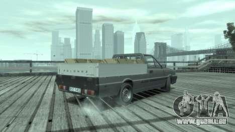Daewoo-FSO ST 2000 für GTA 4 linke Ansicht