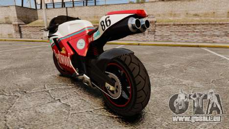 GTA IV TBoGT Pegassi Bati 800 für GTA 4 rechte Ansicht