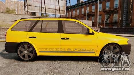 Volkswagen Parati G4 Track and Field 2013 pour GTA 4 est une gauche
