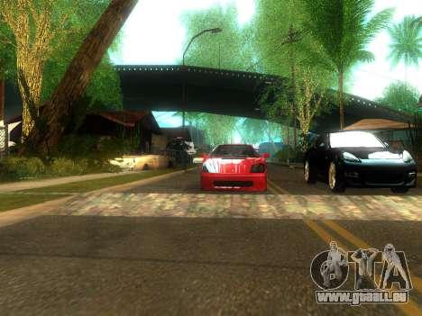 New Grove Street v2.0 pour GTA San Andreas cinquième écran