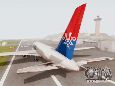 Boeing 767-300 pour GTA San Andreas vue de droite