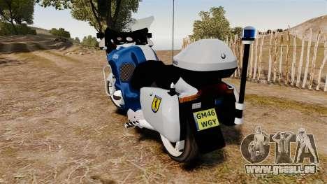 BMW R1150RT Portuguese Police [ELS] für GTA 4 rechte Ansicht