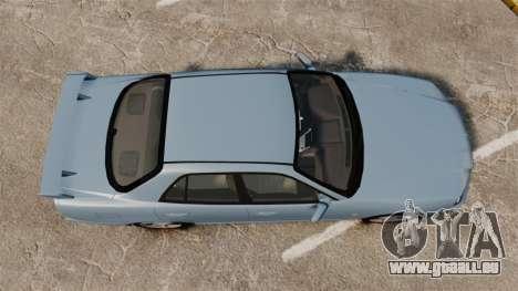 Nissan Skyline ER34 GT25 pour GTA 4 est un droit