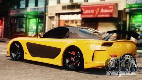 Mazda RX7 Veilside V8 pour GTA 4 est une gauche