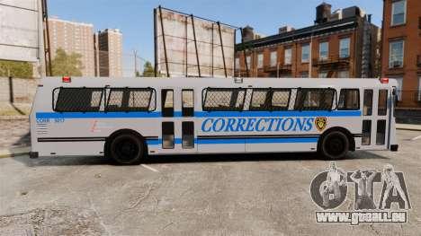 Brute Bus Corrections [ELS] für GTA 4 linke Ansicht