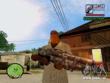 M-86 Sabre v.2 pour GTA San Andreas