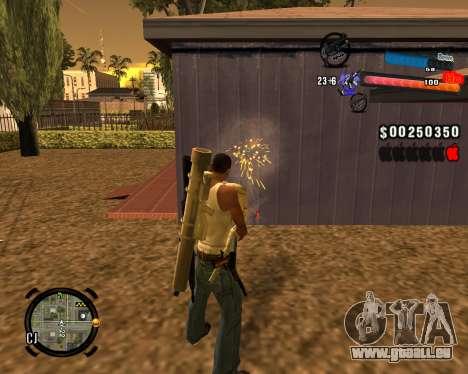 Le nouveau C-PALETTE pour GTA San Andreas troisième écran