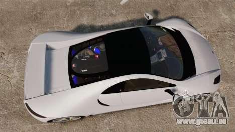 GTA Spano für GTA 4 rechte Ansicht
