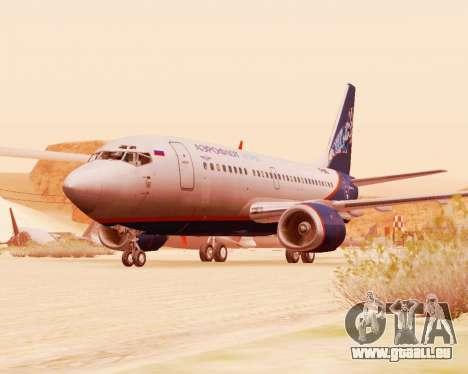 Boeing 737-500, Aeroflot Nord pour GTA San Andreas laissé vue