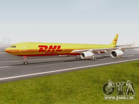 Airbus A340-600F DHL Buffalo pour GTA San Andreas