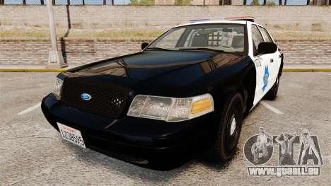 Ford Crown Victoria San Francisco Police [ELS] für GTA 4