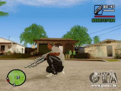 M-86 Sabre v.2 pour GTA San Andreas cinquième écran