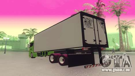 Scania 310 Bau für GTA San Andreas linke Ansicht