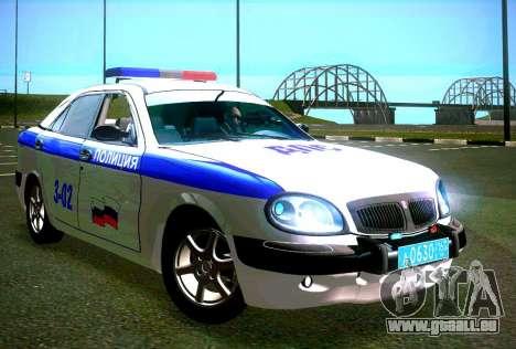 GAZ Wolga 3111 DPS für GTA San Andreas