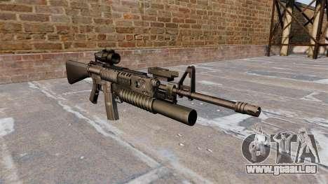 Tactique fusil M16A4 pour GTA 4